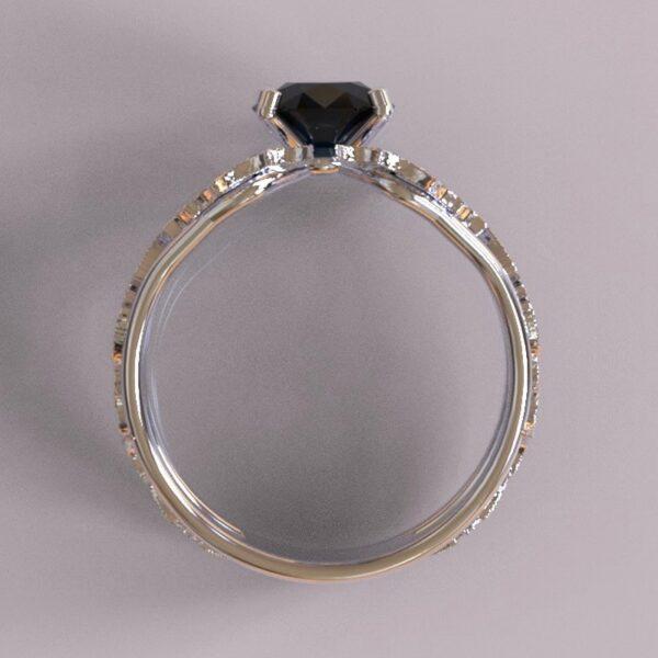 batman engagement ring white gold 4