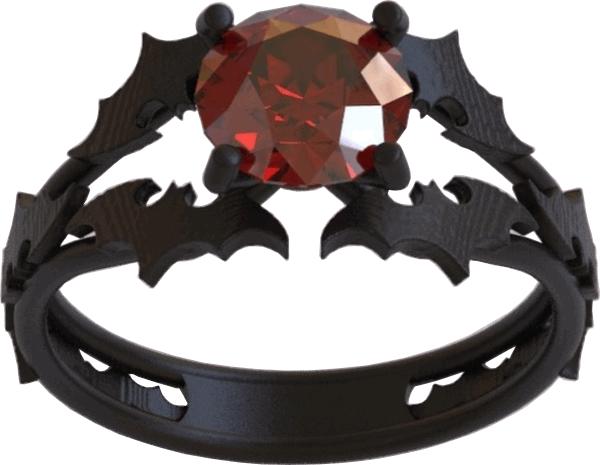 batman engagement geeky ring