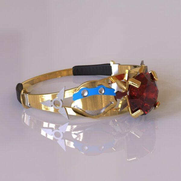 ninja turtles engagement ring gold 3