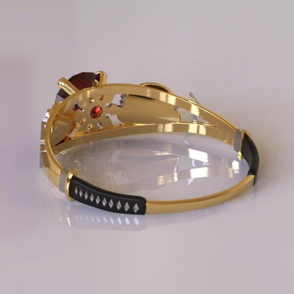 ninja turtles engagement ring gold 4