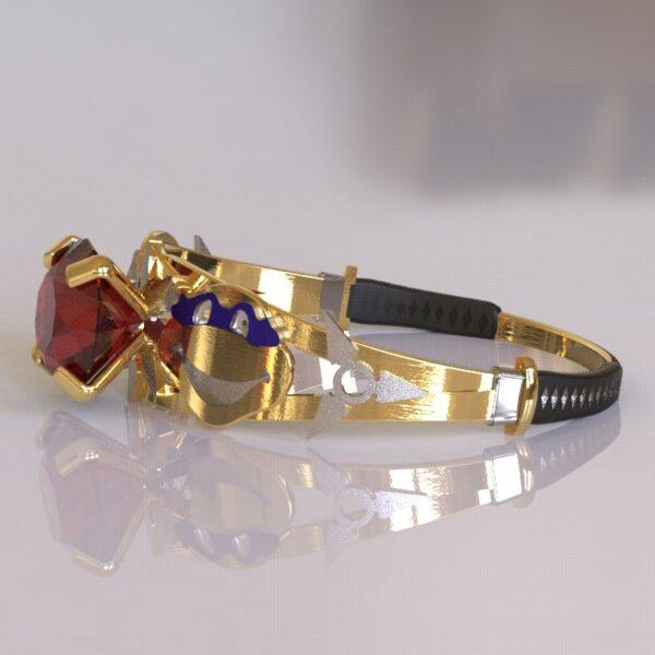 ninja turtles engagement ring gold 5
