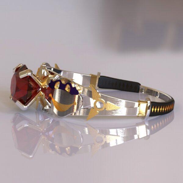 ninja turtles engagement ring white gold 5