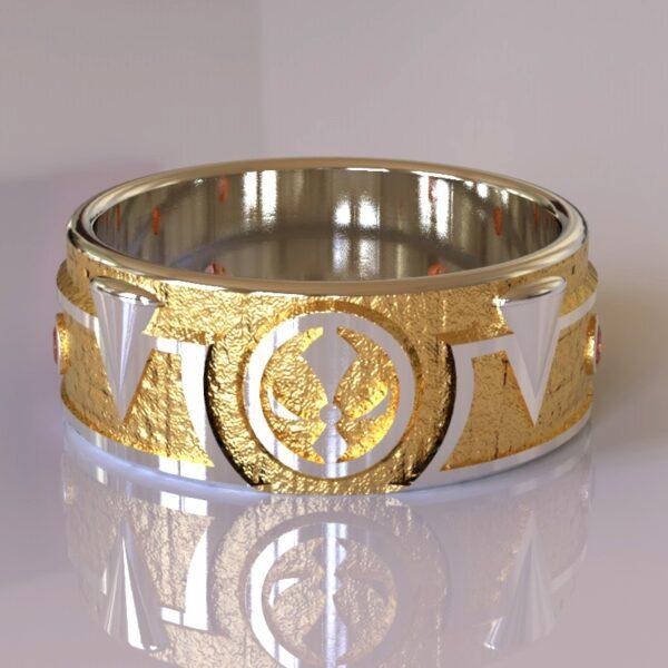 Spawn wedding band gold 1