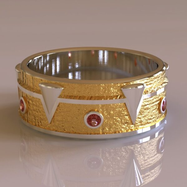 Spawn wedding band gold 3