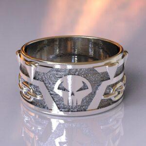 spawn wedding band silver 1