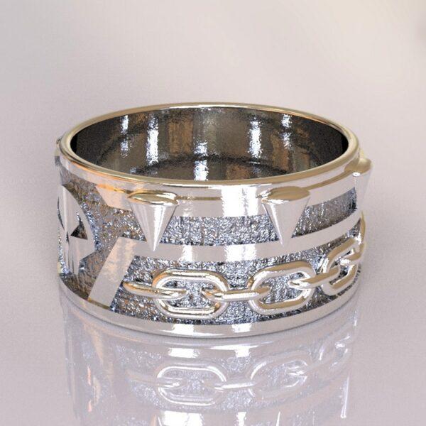 spawn wedding band silver 2