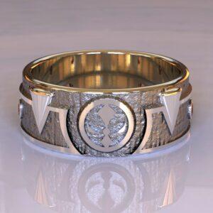 Spawn wedding band white gold 1
