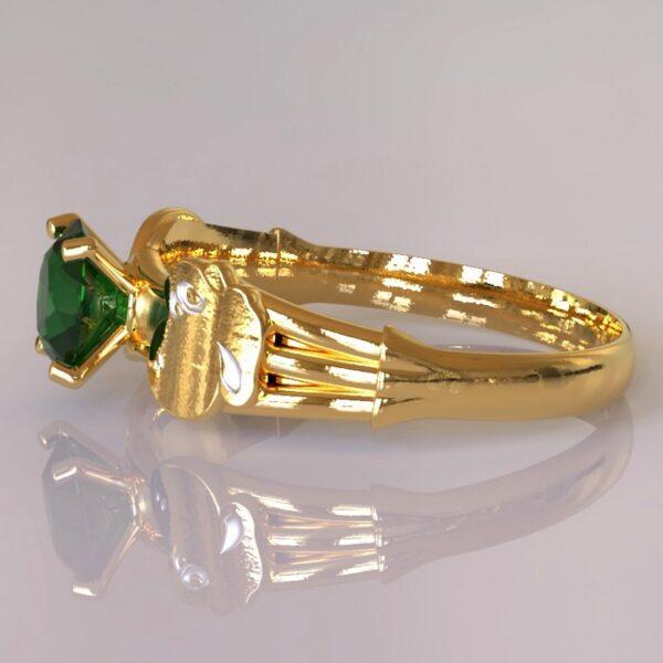 yoshi engagement ring gold 4