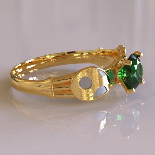 yoshi engagement ring gold 5