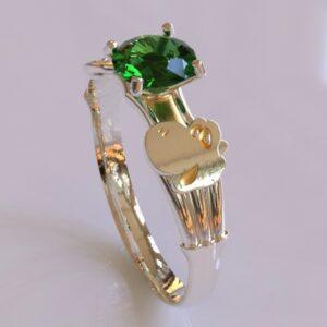 yoshi engagement ring white gold 1