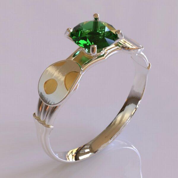 yoshi engagement ring white gold 2