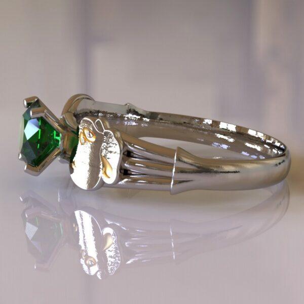 yoshi engagement ring white gold 4