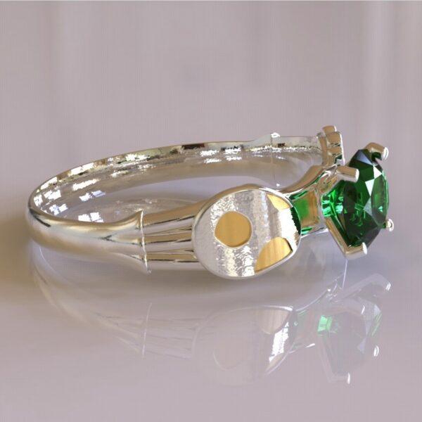 yoshi engagement ring white gold 5